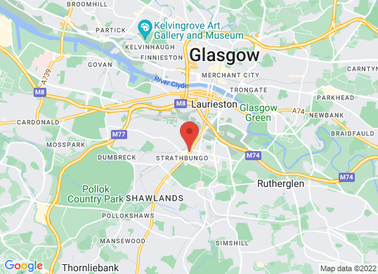Arnold Clark Vauxhall (Glasgow)'s location