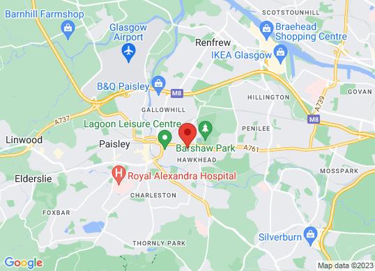 Arnold Clark Renault/Dacia  (Paisley)'s location