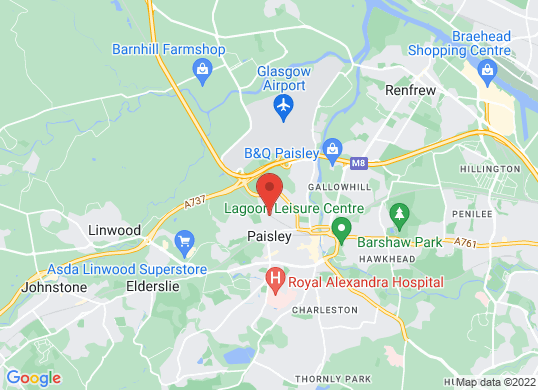 Prestige Car Sales (Scotland) Ltd's location