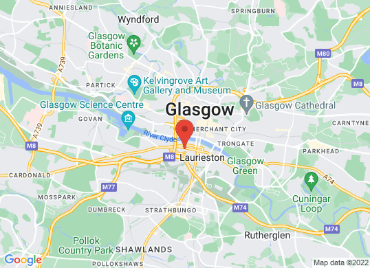 Lexus Glasgow's location