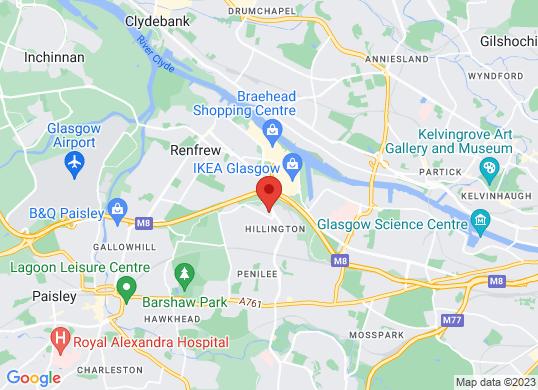 Hillington Park Cars Limited's location
