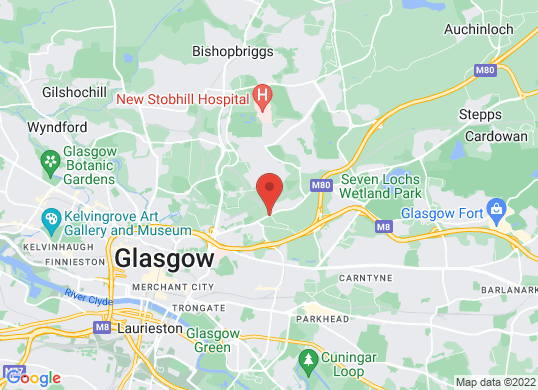 Arnold Clark  Hyundai/Seat (Glasgow North)'s location
