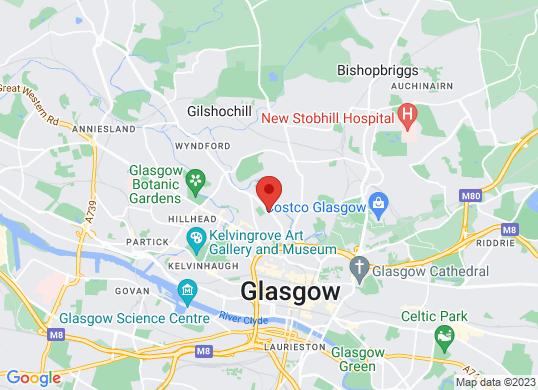 Arnold Clark Vauxhall (Glasgow)'s location
