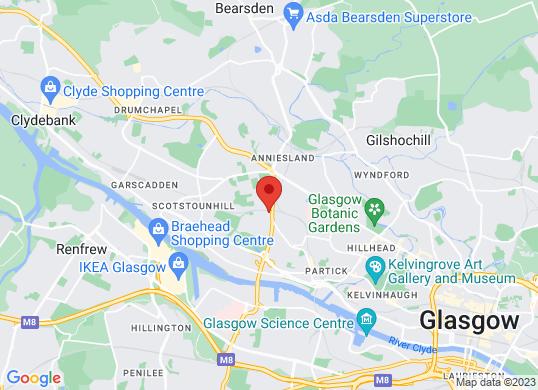 Arnold Clark Volkswagen (Glasgow)'s location