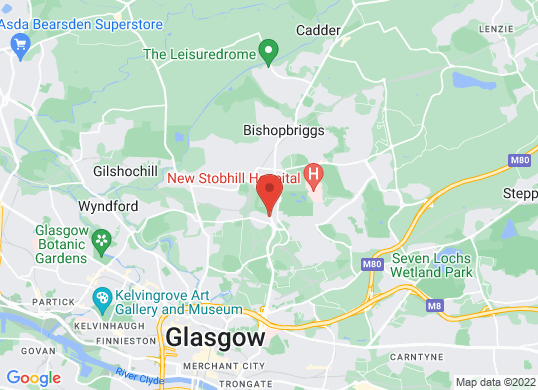 Arnold Clark Fiat/Abarth (Glasgow)'s location