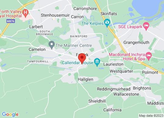 Falkirk Van Sales's location