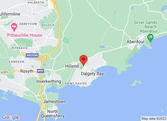 Peter Vardy Vauxhall Dalgety Bay's location