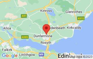 Arnold Clark Fiat (Dunfermline)'s location