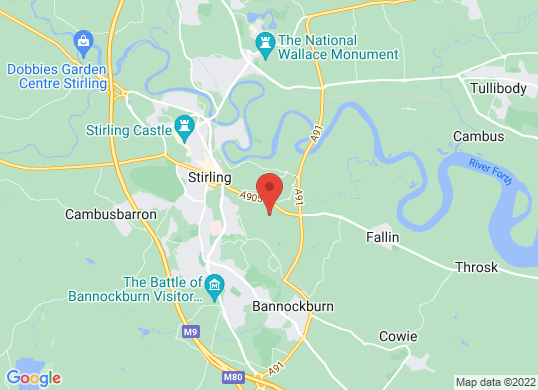 Arnold Clark Citroen (Stirling)'s location
