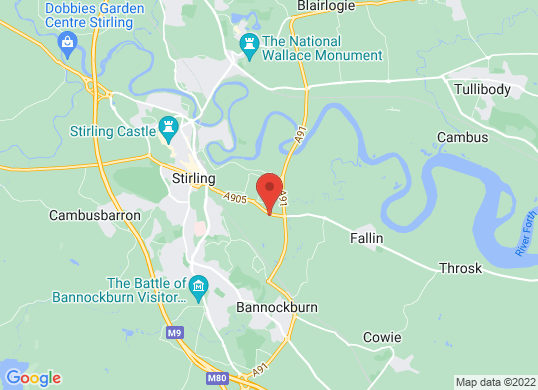 Arnold Clark Hyundai (Stirling)'s location