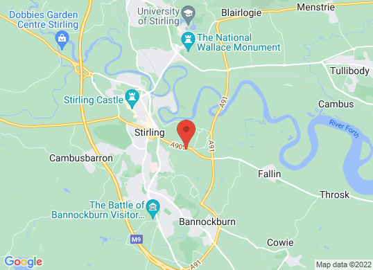 Western Nissan Stirling's location