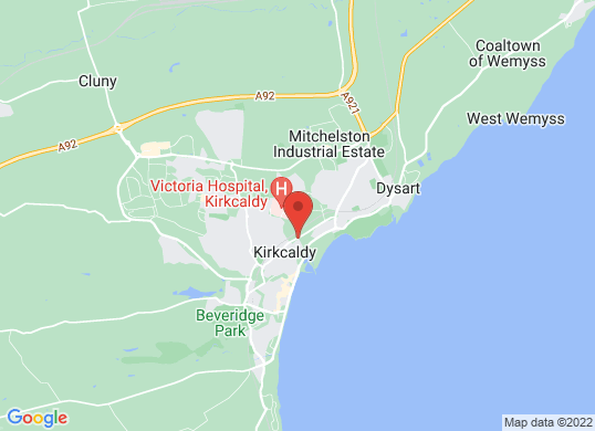The Kirkcaldy Motor Company's location