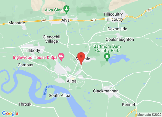 Arnold Clark Vauxhall (Alloa)'s location