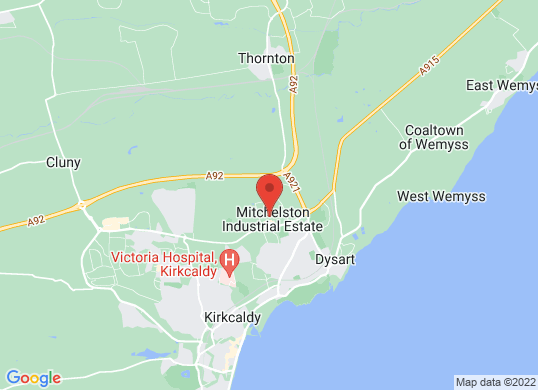Harry Fairbairn MINI (Kirkcaldy)'s location