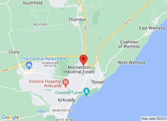 Arnold Clark Peugeot/Mazda (Kirkcaldy)'s location