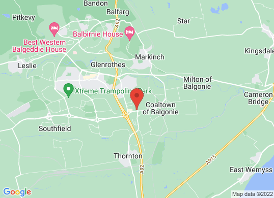 Arnold Clark Vauxhall (Glenrothes)'s location