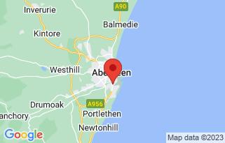 Arnold Clark Volvo (Aberdeen)'s location