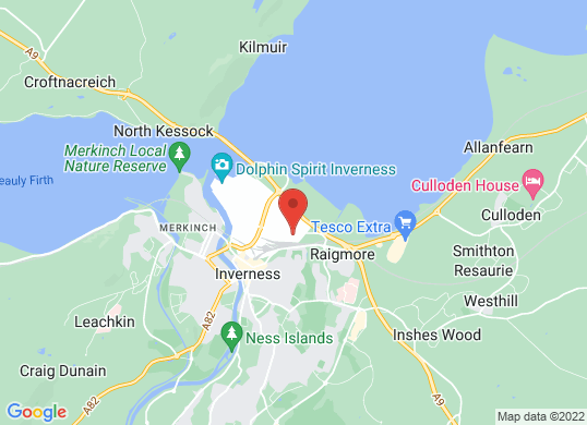 Arnold Clark Renault (Inverness)'s location