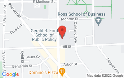 Map of 735 S. State St., Ann Arbor, MI 48109-3091