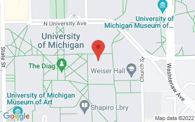 Map of Dana Bldg, Rm 1028