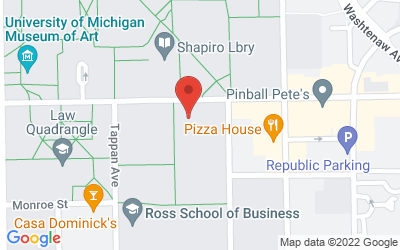 Map of International Institute,