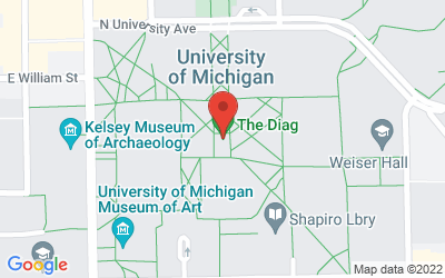 Map of Michigan Diag