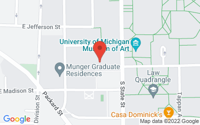 Map of Michigan Union Rogel Ballroom, 530 S. State St., Ann Arbor, MI 48109