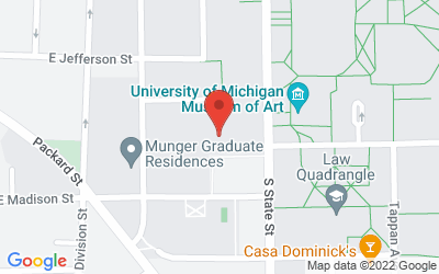 Map of Michigan Union U-Club