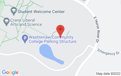Map of Morris Lawrence Building, Washtenaw Community College, 4800 Huron River Dr., Ann Arbor, MI  48105