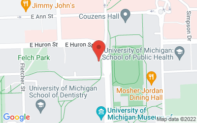 Map of Palmer Commons<br>
