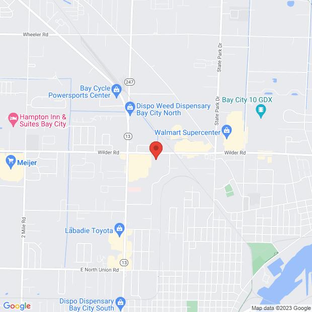 Staticmap?markers=color:red%7c+3636+wilder+road,,bay+city,mi+48706,&zoom=14&size=620x620&maptype=roadmap&sensor=false&key=aizasycfxynyt pynadrpnxvphc9xrxlwhlmi7q