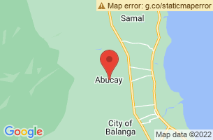 Map of Abucay, Abucay Bataan
