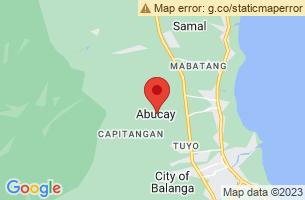 Map of Pasukulan Falls, Abucay Bataan