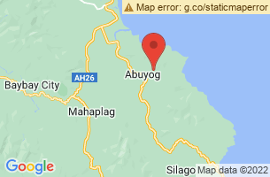 Map of Abuyog, Abuyog Leyte