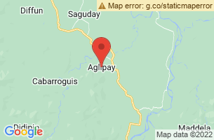 Map of Aglipay Caves, Aglipay Quirino