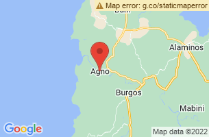 Map of Agno, Agno Pangasinan
