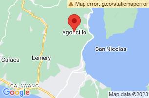 Map of Agoncillo, Agoncillo Batangas