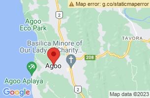 Map of Agoo, Agoo La Union