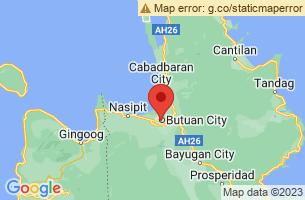 Map of Agusan del Norte,