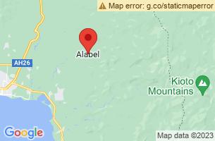 Map of Alabel, Alabel Sarangani