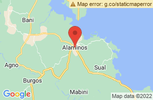 Map of Alaminos, Alaminos Laguna