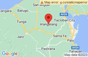 Map of Alangalang, Alangalang Leyte