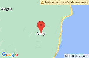 Map of Alcoy, Alcoy Cebu