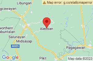 Map of Aleosan, Aleosan Cotabato