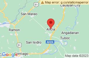 Map of Alicia, Alicia Bohol