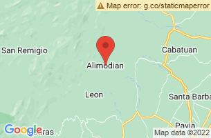 Map of Alimodian, Alimodian Iloilo