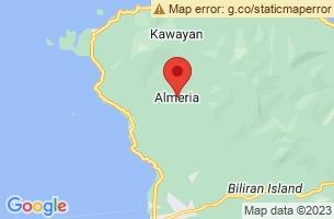 Map of Dalutan Island, Almeria Biliran