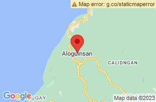 Map of Aloguinsan, Aloguinsan Cebu