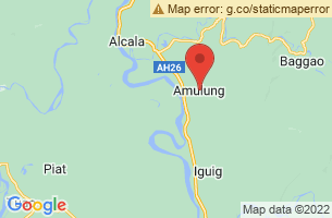 Map of Amulung, Amulung Cagayan
