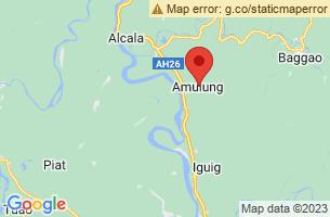 Map of Cagayan River, Amulung Cagayan